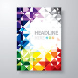 Abstract book cover stock illustration