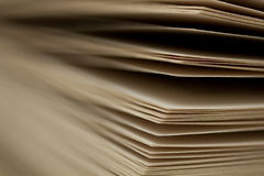 Abstract Book Pages Royalty Free Stock Photography