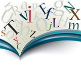 Abstract book series stock illustration