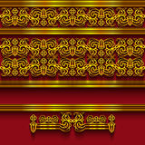 Abstract border decoration Stock Image
