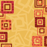 Abstract border fram with squares. Abstract border fram with decorative squares Stock Image
