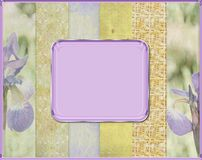 Abstract border frame background Stock Images