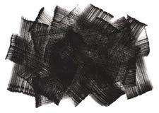 Abstract borstel het schilderen art. Royalty-vrije Stock Afbeelding