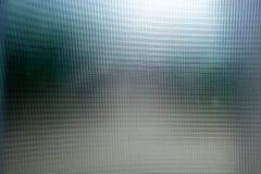 Abstract Bos op de Berijpte Achtergrond van de glastextuur Stock Fotografie