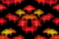 Abstract bospatroon Stock Afbeeldingen