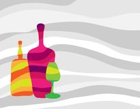 Free Abstract Bottles And Glass Stock Images - 13862154