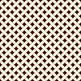 Abstract braiding background. Seamless surface pattern with repeated diagonal weave rectangular tiles. Wicker wallpaper royalty free illustration