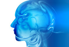 Abstract brain Royalty Free Stock Image