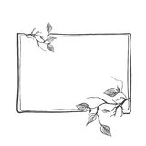 Abstract Branch Frame Royalty Free Stock Photo