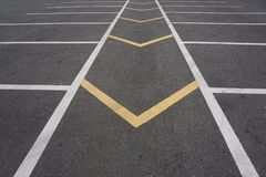 Abstract break line road Royalty Free Stock Photo