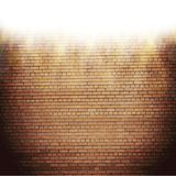 Abstract brick background. blurry light effects. Vector. EPS10 royalty free illustration