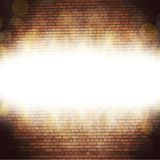 Abstract brick background.  blurry light effects Stock Photos