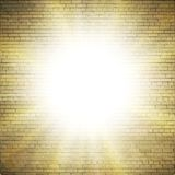 Abstract brick background.  blurry light effects Stock Photography