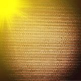 Abstract brick background.  blurry light effects Royalty Free Stock Images