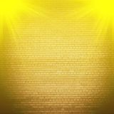 Abstract brick background.  blurry light effects Stock Images