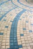 Abstract brick block curve detail Stock Photos