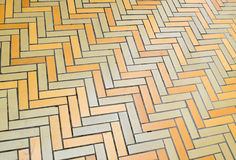 Abstract of brick floor Stock Photography