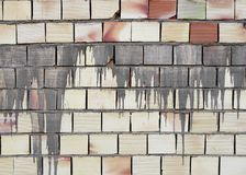 Abstract brick wall Stock Image