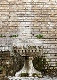 Abstract brick wall texture Royalty Free Stock Photos