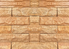 Abstract brick wall texture background. Grungy blocks of stonework technology color horizontal architecture wallpaper Royalty Free Stock Images