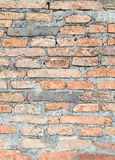 Abstract bricks wall background old  stucco color light gray dir Royalty Free Stock Photos