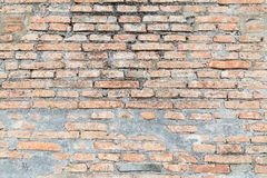 Abstract bricks wall background old  stucco color light gray dir Stock Photos