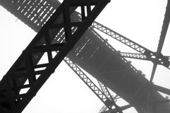 Abstract Bridge stock images