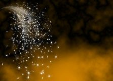 Free Abstract Bright And Glittering Falling Star Tail Royalty Free Stock Photos - 126605428