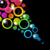 Abstract bright background. Stock Photography