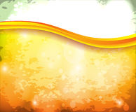 Abstract bright background. In orange color Stock Illustration