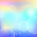 Abstract bright background with circle light effect Royalty Free Stock Images
