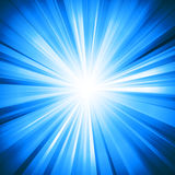Abstract bright background with geometric shapes. Rays emanating from the Centre. Point of concentration. Sunlight Royalty Free Stock Images