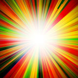 Abstract bright background with geometric shapes. Rays emanating from the Centre. Point of concentration. Sunlight Royalty Free Stock Image