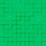 Abstract bright background with green squares Royalty Free Stock Photography