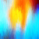 Abstract bright background of many elements. Glitch effect. Royalty Free Stock Photography