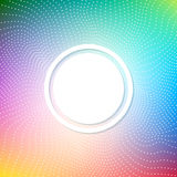 Abstract bright background with a pattern of white dots and dashes. Shades of the Rainbow. Stock Photos