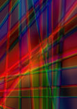 Abstract bright background of radiant colored stripes Stock Images