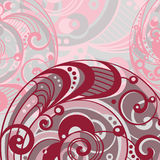 Abstract bright background with spiral Stock Images