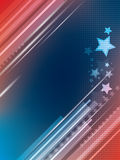 Abstract bright background with stars Royalty Free Stock Photo