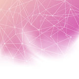 Abstract bright background with transparent net Stock Photography