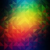 Abstract bright background with triangles. Modern Royalty Free Stock Image