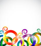 Abstract Bright Background Vector Illustration Stock Photo
