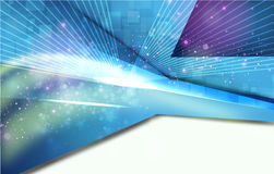 Abstract bright blue background Royalty Free Stock Photo