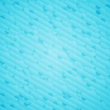 Abstract bright blue geometric background Royalty Free Stock Photography
