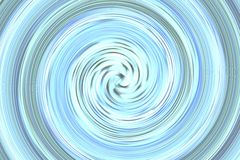 Abstract bright blue spin Stock Images