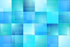 Abstract bright blue tech background Royalty Free Stock Images