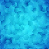 Abstract bright blue wallpaper.  Stock Photo