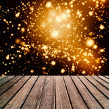 Abstract bright blur sparkle and glittering shine bubble lights Royalty Free Stock Image