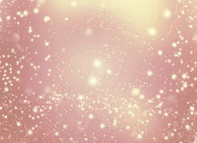 Abstract bright blur sparkle and glittering shine bubble lights Royalty Free Stock Photos