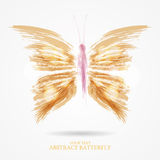 Abstract bright butterfly Royalty Free Stock Photos